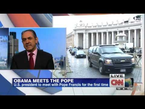 Jack Valero on CNN on President Obama's visit to Pope Francis