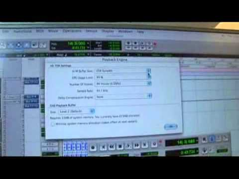 Pro Tools Playback Engine Tips