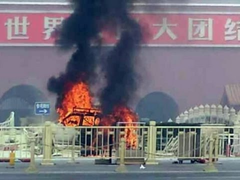 China: Tiananmen Square car attack