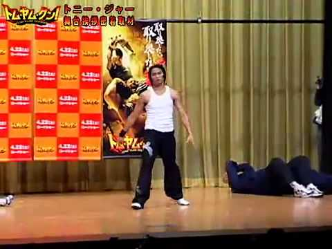 TONY JAA in JAPAN   YouTube