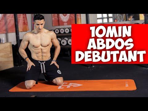 10 minutes abdominaux niveau débutant ! (une fois par jour)