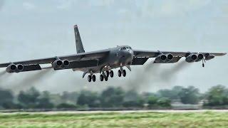 FOTO: Legendárny gigant B – 52 sa vracia na Sliač