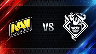 TORNADO.ROX REBORN vs Natus Vincere - day 2 week 8 Season I Gold Series WGL RU 2016/17