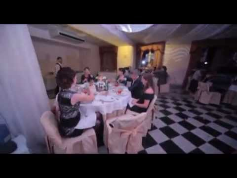 """Свадьба Ивана и Кати, ресторан """"Али"""". Ведущие Дмитрий Колбин и Маша Головацкая"""