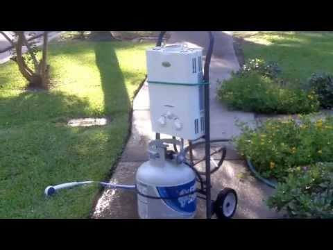Off Grid Shower No Electricity Tankless Water Heaters
