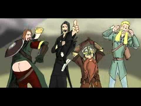 Jak to mělo ve skutečnosti být s hobbity a spol:D