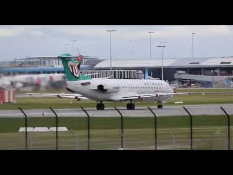 Network Aviation F100 Takeoff at Perth (YPPH)