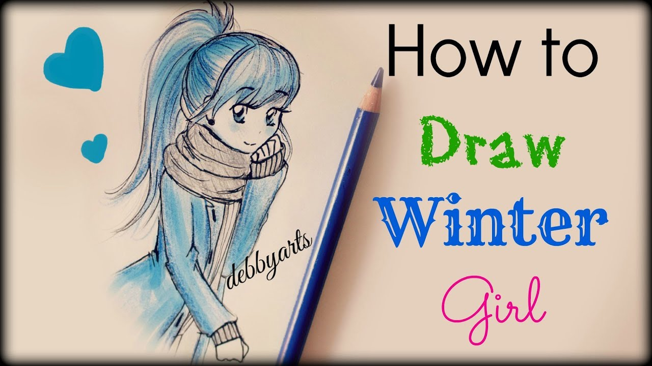 how to draw a girl youtube