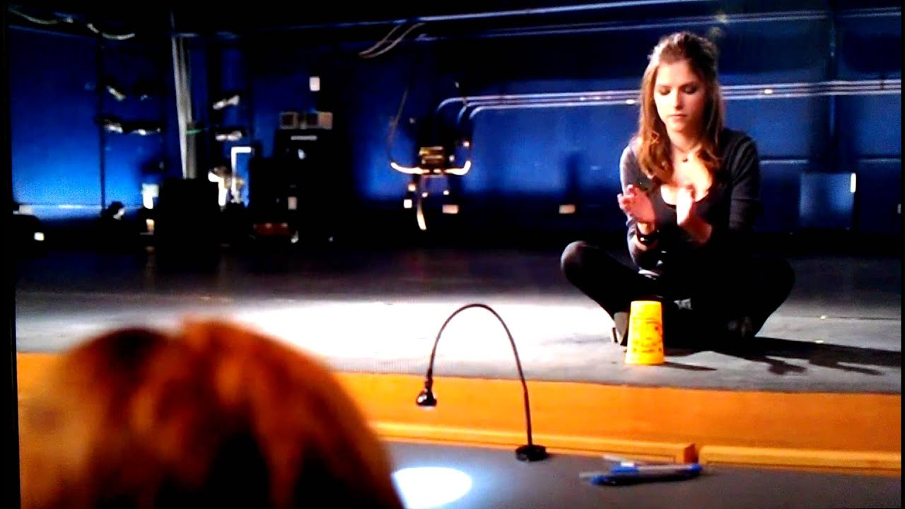 Pitch Perfect Cup Scene Youtube