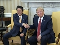 Japans Abe Meets with Trump in White House