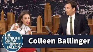 Colleen Ballinger Transforms into Miranda Sings to Interview Jimmy