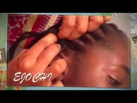 Como hacer trenzas de ra z con postizo youtube - Como hacer peinados hombre ...