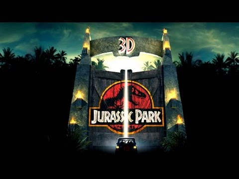 Jurassic Park 3D Trailer (2013), Jurassic Park 3D Official Trailer. In 3D and Imax 3D on April 2013.