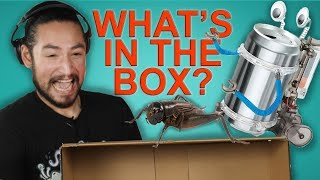 WHAT'S IN THE BOX CHALLENGE (feat. James)