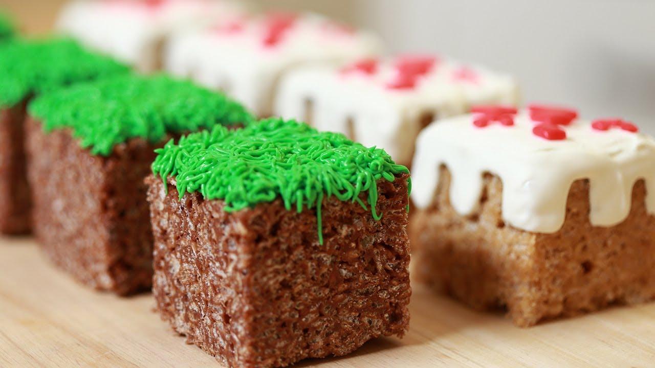 Cookie Cake Recipes Minecraft Theme