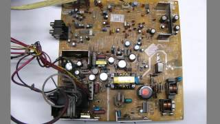 Procedimiento para reparar televisor con falla en la fuente