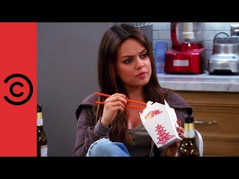 Mila Kunis on Two and a Half Men - Comedy Central UK