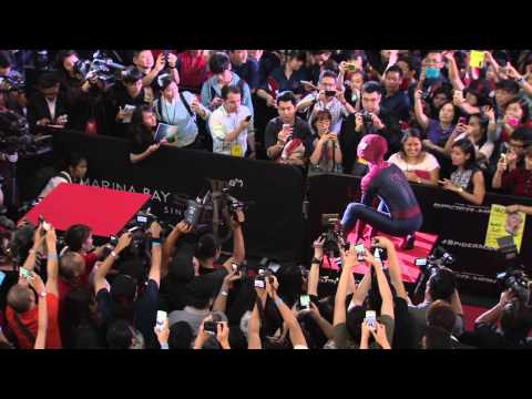 The Amazing Spider-Man 2: Singapore Movie Premiere Arrivals and Cast Fashion Part 1 of 2
