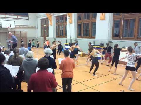 GALA SPORT UP - Répétition avec les danseurs - Adiemus