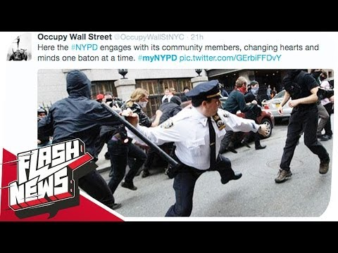 Twitter-Fail des NYPD & Korruption in der EU! - FLASH NEWS