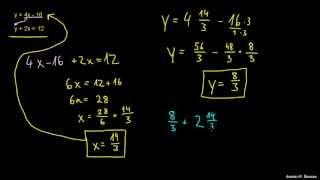 Naloga 2 – Reševanje sistema dveh enačb