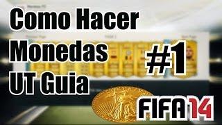 """Fifa 14 Como Hacer Monedas En Ultimate Team """"La Verdad"""