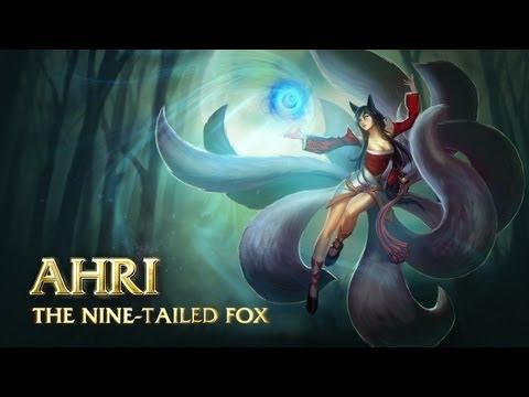 Ahri - Хвостатая лисица