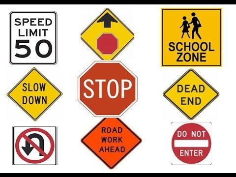 ¡Evítese una multa! Aprenda señales de tránsito EEUU.