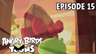 Angry Birds Toons #15 - Trójske vajce
