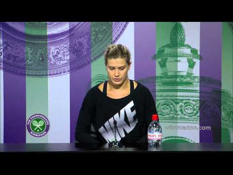 Eugenie Bouchard 'the job is not over' - Wimbledon 2014
