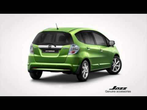 Honda Jazz Genuine Accessories