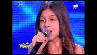 "Vanessa Marzavan ""Silent Night"" Next Star"