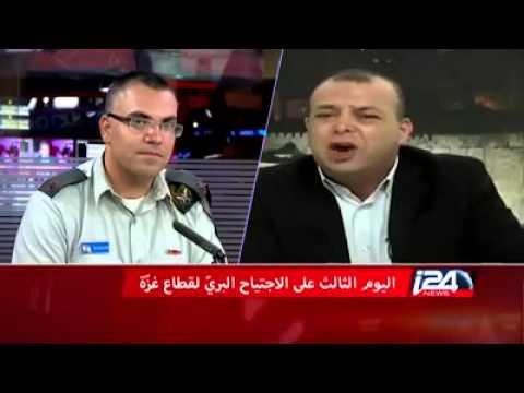 المتحدث باسم فتح في الخليل يطلق صراخاته في وجه أفيخاي ادرعي الناطق الرسمي للكيان الصهيوني