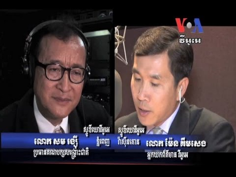 Sam Rainsy Returns to Lead the Opposition After Nearly Four Years Away