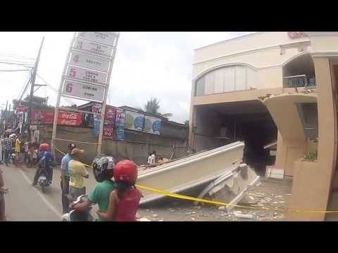 Earthquake damage Gasaino building Banilad Cebu