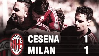 Cesena-Milan 1-1 Highlights | AC Milan Official