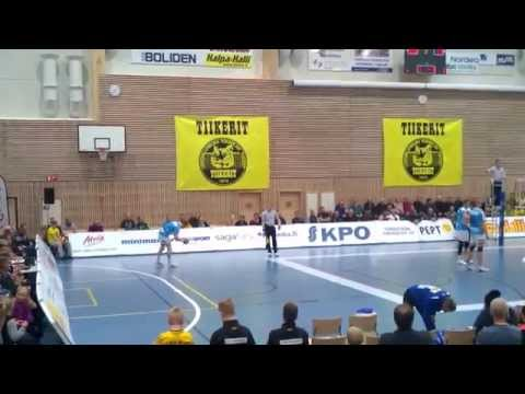 Tiikerit - Saimaa Volley 21.3.2014