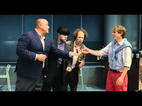 The Three Stooges (2012) Trailer [HD], Left on a nun's doorstep, Larry, Curly and Moe grow up finger-poking, nyuk-nyuking and woo-woo-wooing their way to uncharted levels of knuckleheaded misadven...