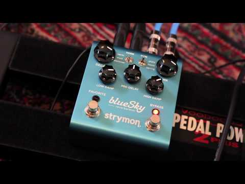 Strymon Blue Sky Reverberator Reverb Pedal