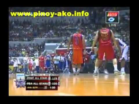 NBA All-Stars 2011 vs PBA Stars #7/9 Araneta Coliseum, Manila, Philippines, July 23, 2011