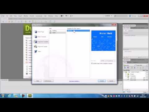 Dreamweaver Html Templates