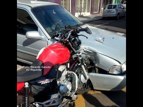 Flagrante de violência no trânsito em Marília