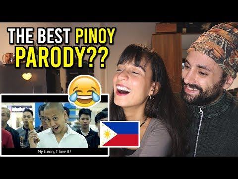 The BEST PINOY Parody? Mikey Bustos - MY TURON (Reacting to Filipino)