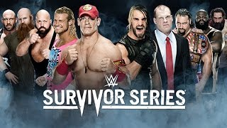 Team Cena vs. Team Authority - Survivor Series - WWE 2K15 Simulation