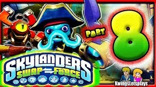 Skylanders Swap Force Wii U Part 8 Iron Jaw Glutch