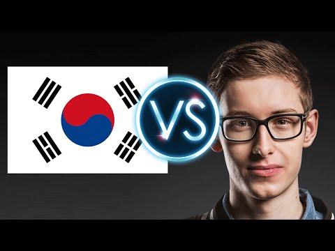 Bjergsen Vs La Corée ! Oeil sur la corée