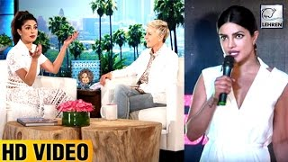 Priyanka Chopra REACTS On Getting Insulted By TV Anchors In Hollywood   LehrenTV