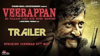 veerappan trailer 2, Veerappan film trailer, bollywood movies