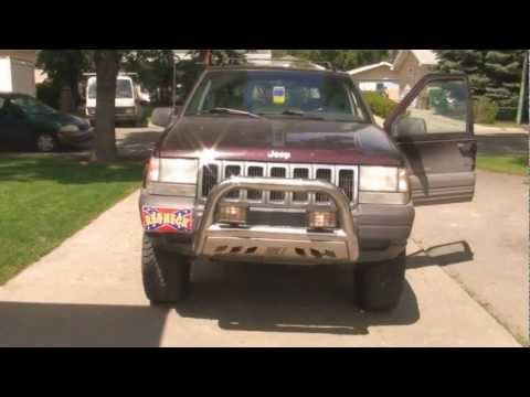 1997 Jeep ZEDJAY - Redneck aluminum push bar how to
