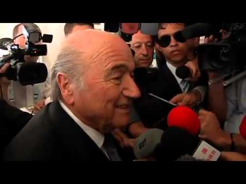 Blatter Pleased With World Cup Draw